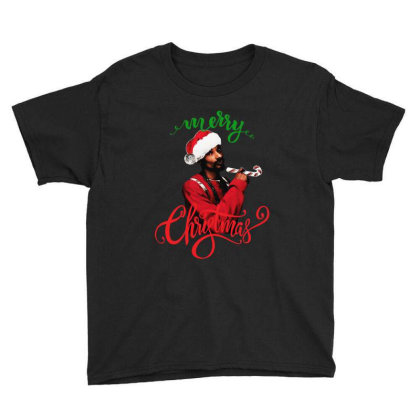 Snoop Dogg Merry Christmas Youth Tee Designed By Kevin Design