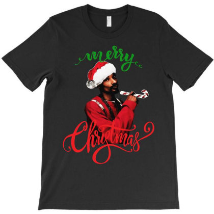 Snoop Dogg Merry Christmas T-shirt Designed By Kevin Design