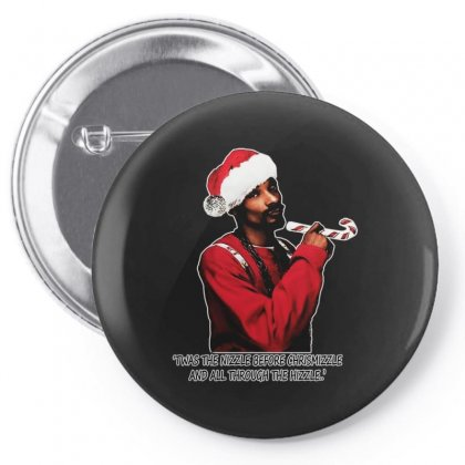 Snoop Dogg Christmas Pin-back Button Designed By Kevin Design