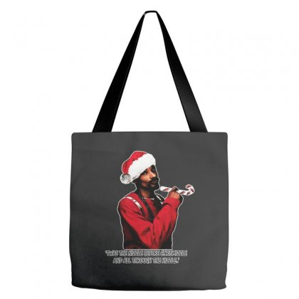 Snoop Dogg Christmas Tote Bags Designed By Kevin Design