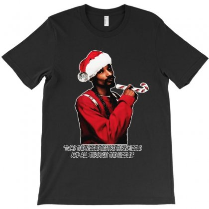 Snoop Dogg Christmas T-shirt Designed By Kevin Design