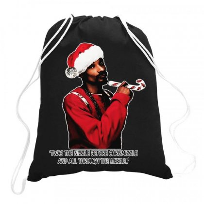 Snoop Dogg Christmas Drawstring Bags Designed By Kevin Design