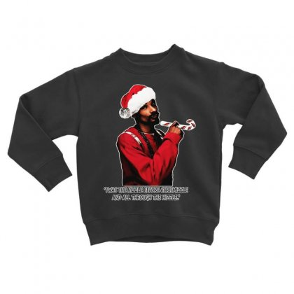 Snoop Dogg Christmas Toddler Sweatshirt Designed By Kevin Design