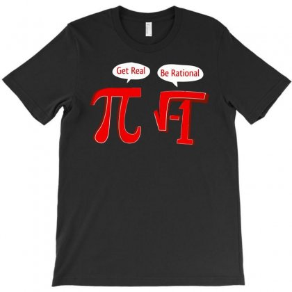 Pi Be Rational T-shirt Designed By Baron