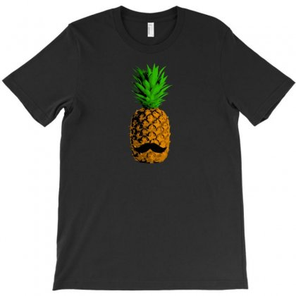 Pineapple Moustache T-shirt Designed By Baron