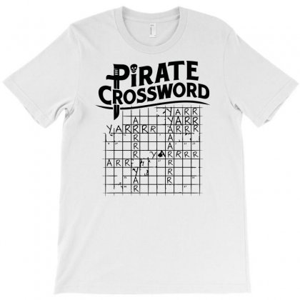 Pirate Crossword T-shirt Designed By Baron