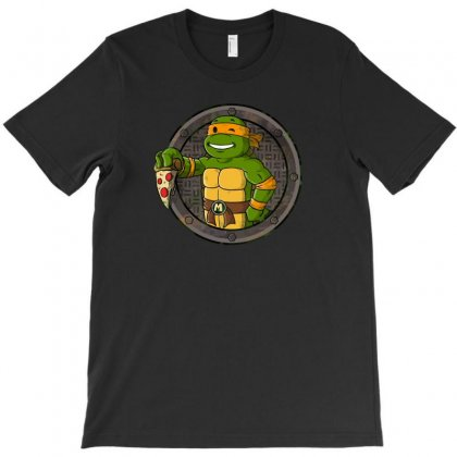 Pizza Boy T-shirt Designed By Baron