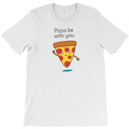 Pizza Is Funny T-shirt Designed By Baron