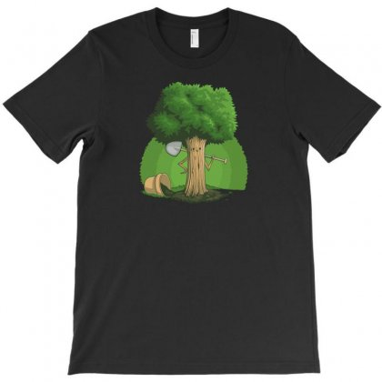 Plant A Tree T-shirt Designed By Baron