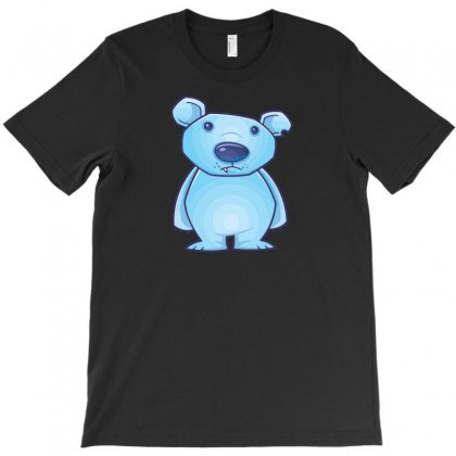 Polar Bear Cub T-shirt Designed By Baron
