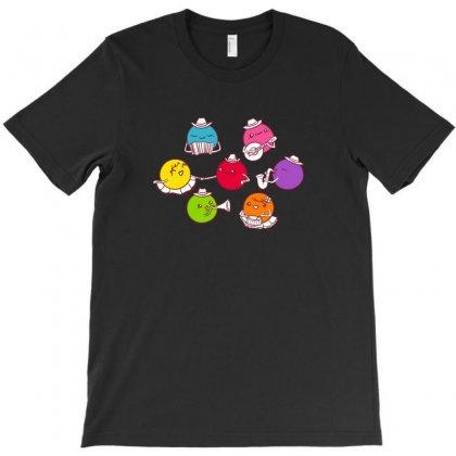 Polka Dots T-shirt Designed By Baron