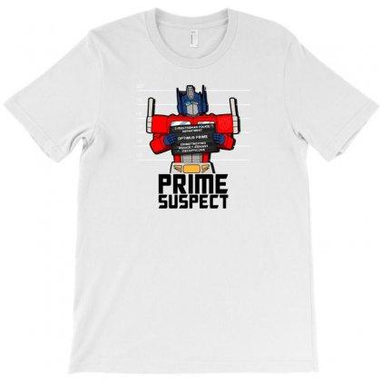 Prime Suspect T-shirt Designed By Baron