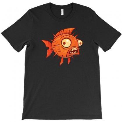 Pufferfish T-shirt Designed By Baron