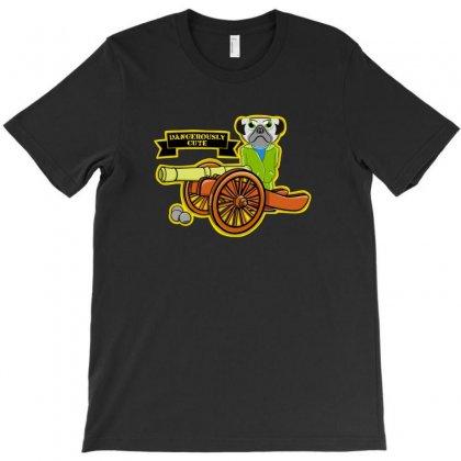 Pug Gun T-shirt Designed By Baron