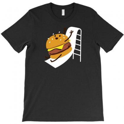 Slider Burger T-shirt Designed By Baron