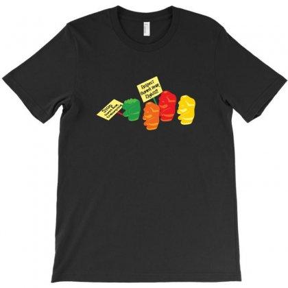 Stop Gummibear Cruelty T-shirt Designed By Baron