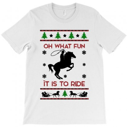 Horse Christmas Sweater   For Light T-shirt Designed By Kevin Design