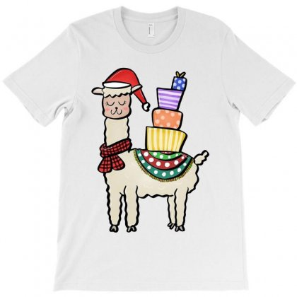 Christmas Llama T-shirt Designed By Kevin Design