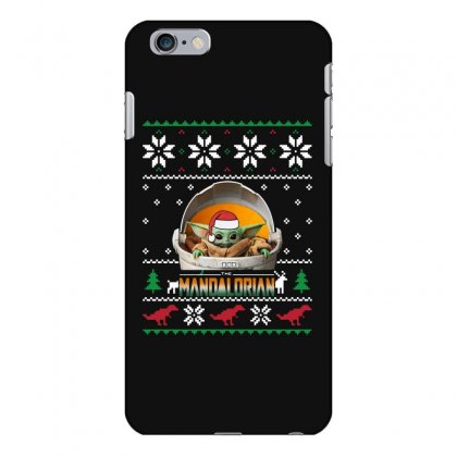 The Mandalorian Ugly Christmas Sweater   For Dark Iphone 6 Plus/6s Plus Case Designed By Paulscott Art