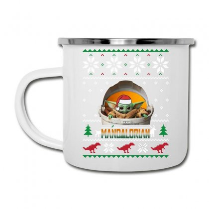 The Mandalorian Ugly Christmas Sweater   For Dark Camper Cup Designed By Paulscott Art