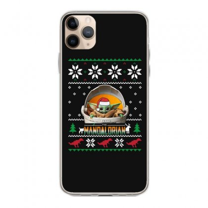 The Mandalorian Ugly Christmas Sweater   For Dark Iphone 11 Pro Max Case Designed By Paulscott Art