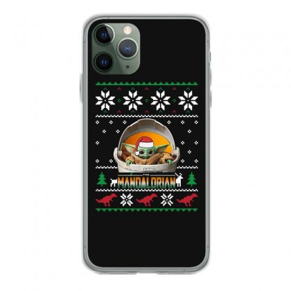 The Mandalorian Ugly Christmas Sweater   For Dark Iphone 11 Pro Case Designed By Paulscott Art