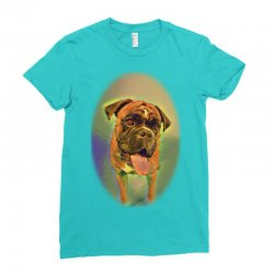 Walking the pack/array of dogdachshunds, being walked by singl Ladies Fitted T-Shirt | Artistshot