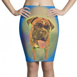 Walking the pack/array of dogdachshunds, being walked by singl Pencil Skirts | Artistshot