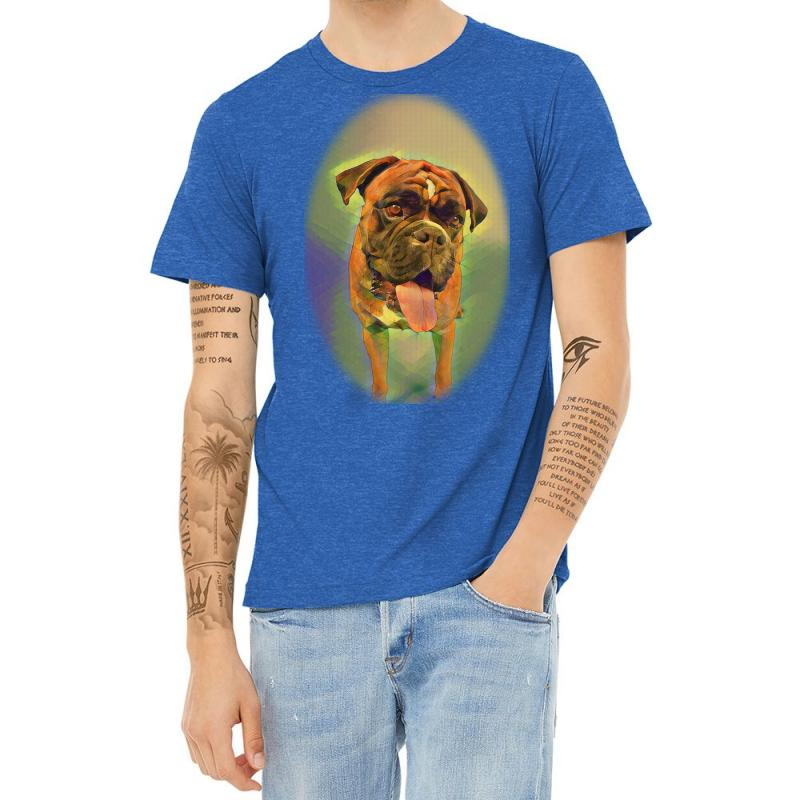 Walking The Pack/array Of Dogdachshunds, Being Walked By Singl Heather T-shirt | Artistshot