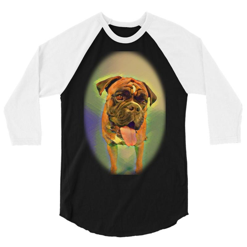 Walking The Pack/array Of Dogdachshunds, Being Walked By Singl 3/4 Sleeve Shirt   Artistshot