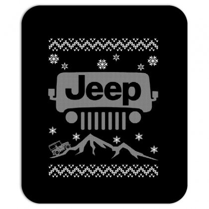 Christmas Jeep For Dark Mousepad Designed By Neset