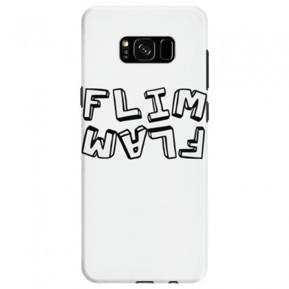 Flamingo  Flim Flam Samsung Galaxy S8 Case Designed By Kakashop