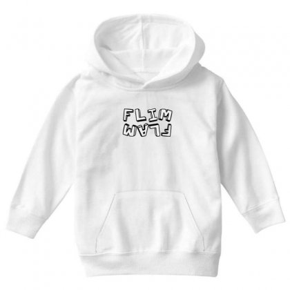 Flamingo  Flim Flam Youth Hoodie Designed By Kakashop