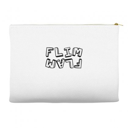 Flamingo  Flim Flam Accessory Pouches Designed By Kakashop