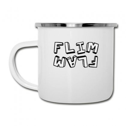 Flamingo  Flim Flam Camper Cup Designed By Kakashop