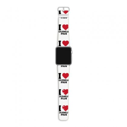 I Love Guinea Pigs Apple Watch Band Designed By Candrashop