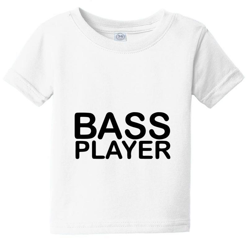 Bass Player Baby Tee | Artistshot