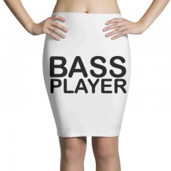 bass player Pencil Skirts | Artistshot