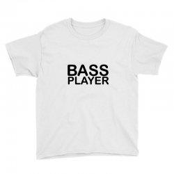 bass player Youth Tee   Artistshot
