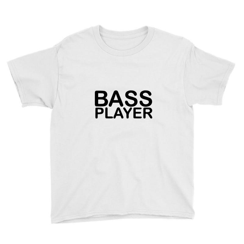 Bass Player Youth Tee | Artistshot