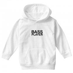 bass player Youth Hoodie   Artistshot