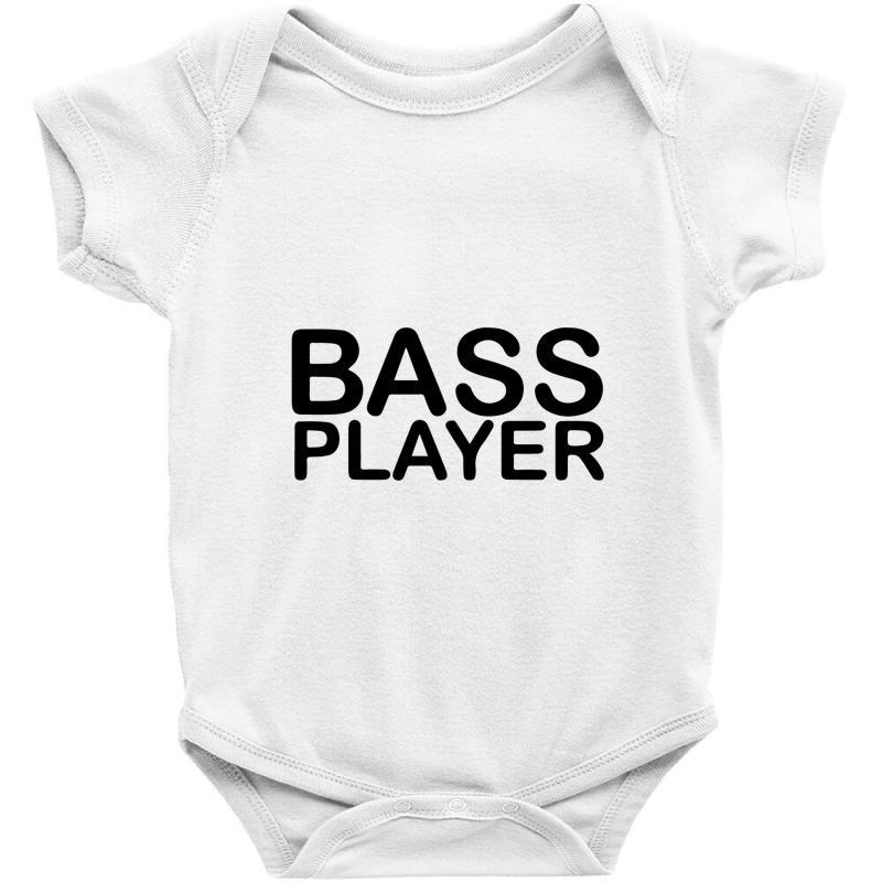 Bass Player Baby Bodysuit | Artistshot