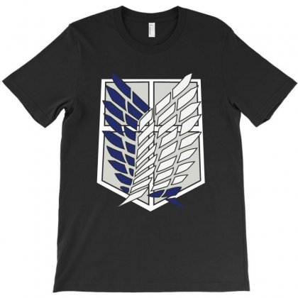 Attack On Titans Wings Of Freedom T-shirt Designed By Pujangga45