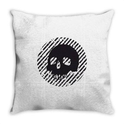 Skull Throw Pillow Designed By Estore