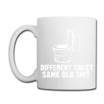 Different Toilet, Same Old Shit Coffee Mug Designed By Bud1