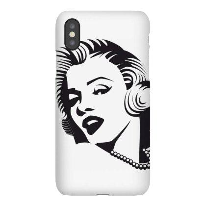 Merilin Monro Iphonex Case Designed By Estore
