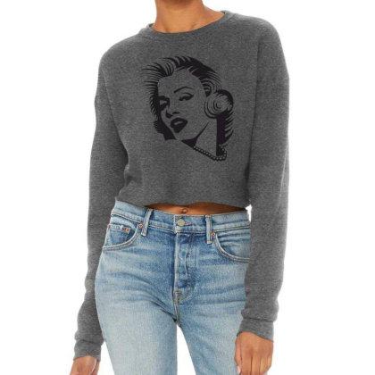 Merilin Monro Cropped Sweater Designed By Estore