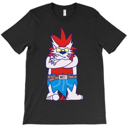 Wild Aztec Monster T-shirt Designed By Mdk Art