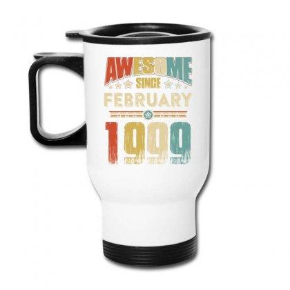 Awesome Since January 1999 Shirt Travel Mug Designed By Hung