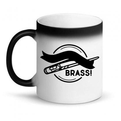 Kiss My Brass Magic Mug Designed By Bud1